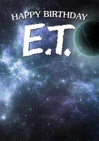 Happy Birthday E.T.