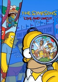 Simpsons Live and Uncut